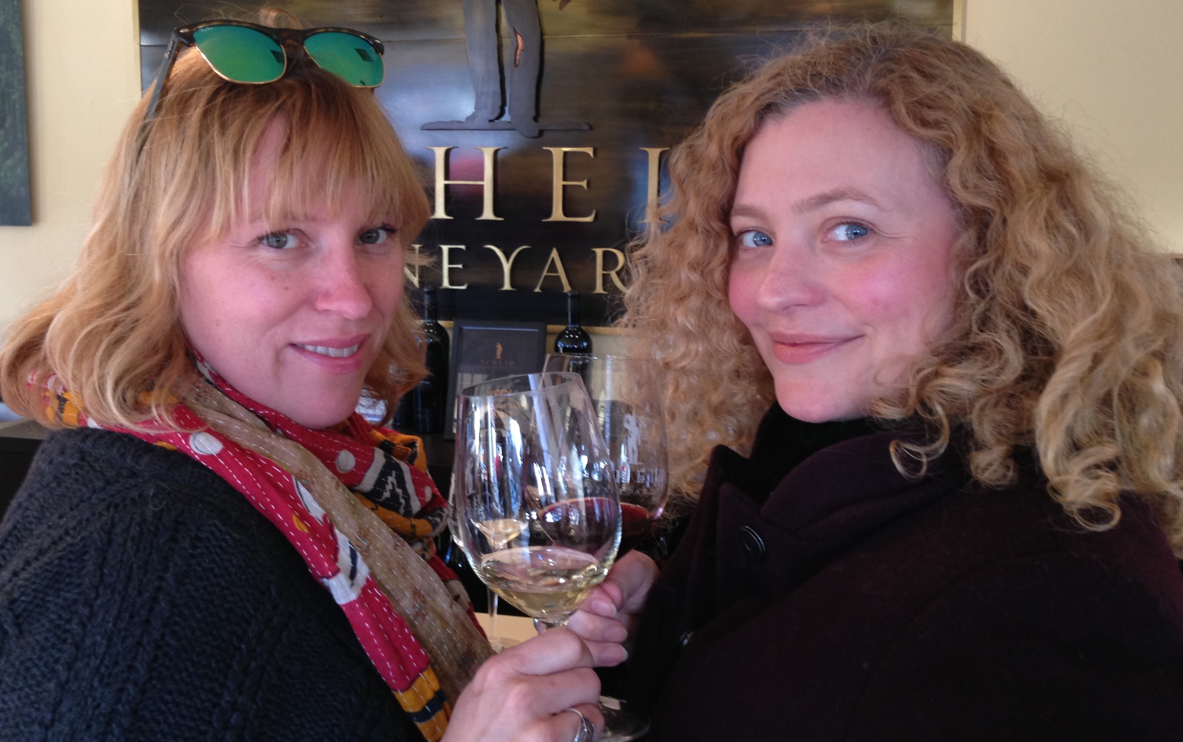Jen, a soujourner from LA, also a KY native and also tasting companion of many, many years. Oh the wines we have shared!