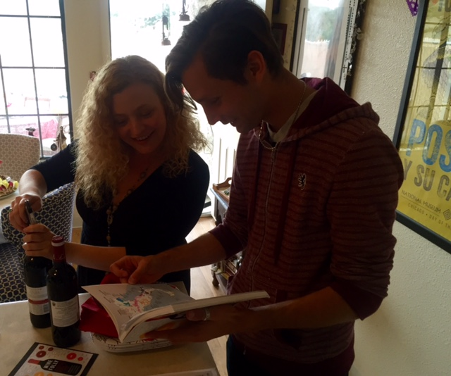 Checking out The Wine Folly book...