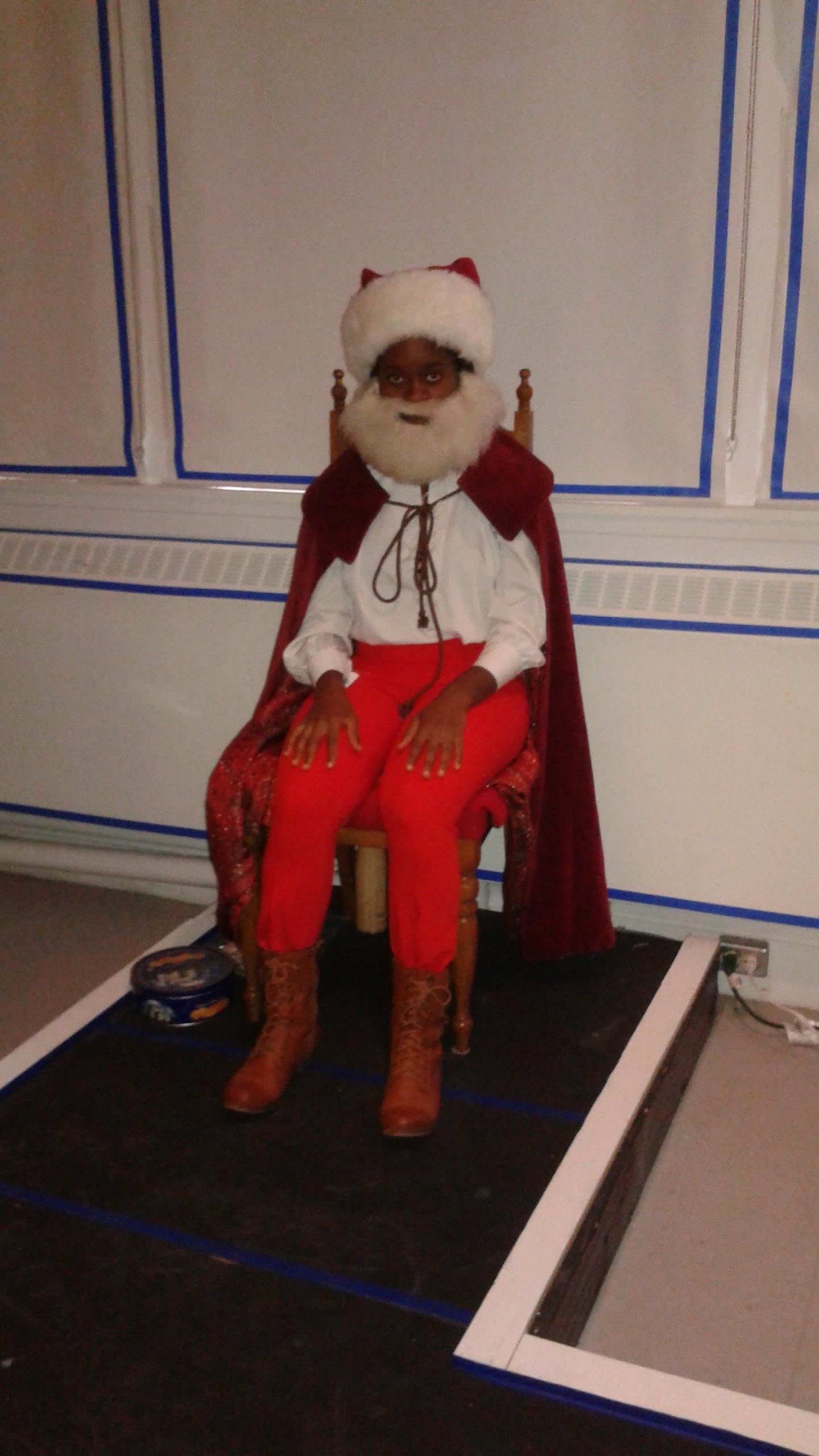 Jajube Mandiela as Santa Claus