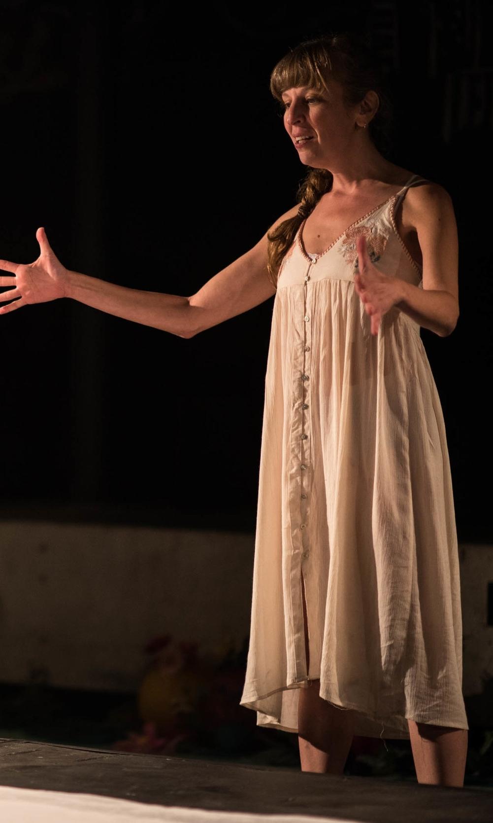 Jenna Harris as Lela. Photo by Dahlia Katz