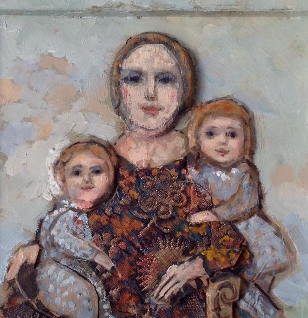 MERE ET DEUX ENFANTS (Detail)