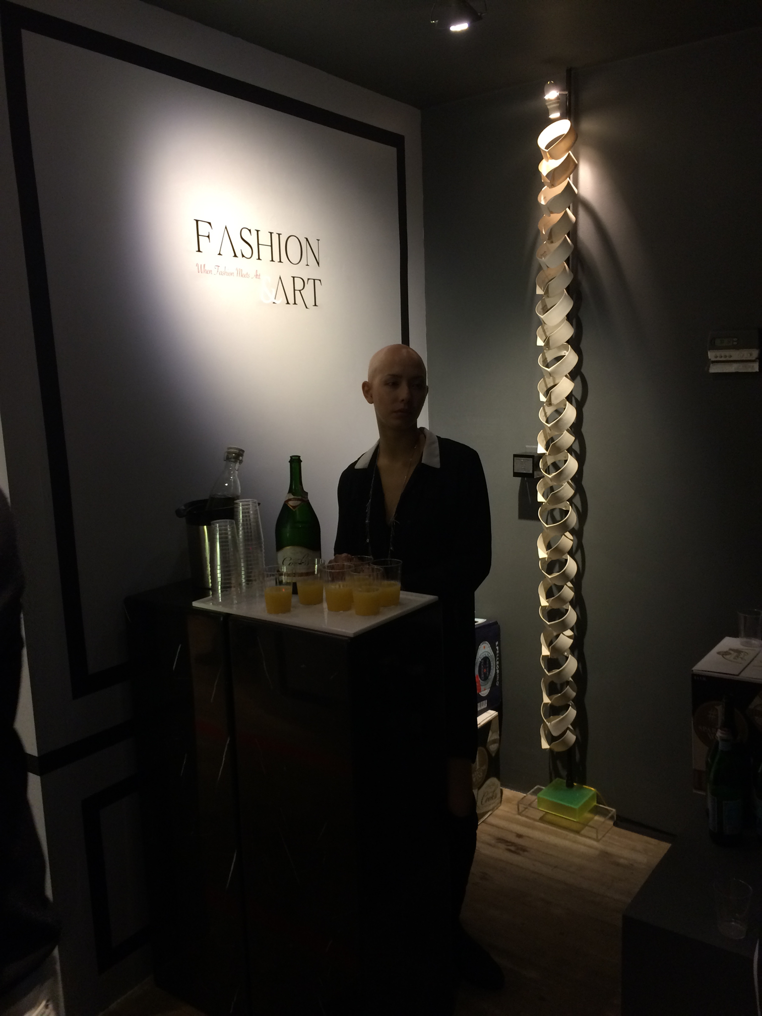 When Fashion Meets Art Exhibition at Artemisia Gallery - a