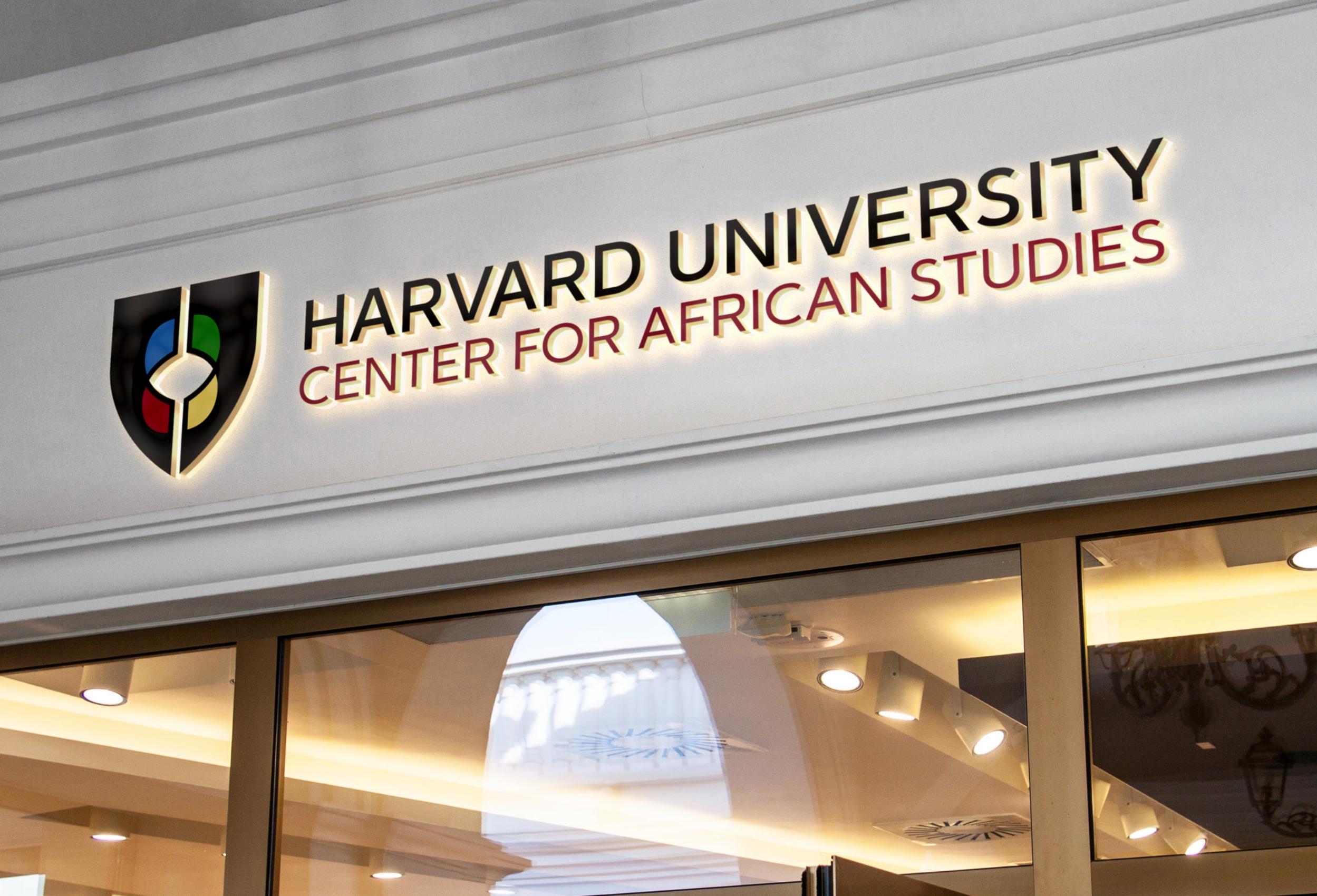 Harvard University Center for African Studies Brand Identity