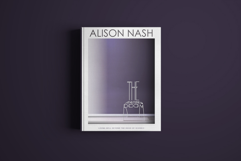 """""""The Waiting Room"""" Book cover and layout design"""