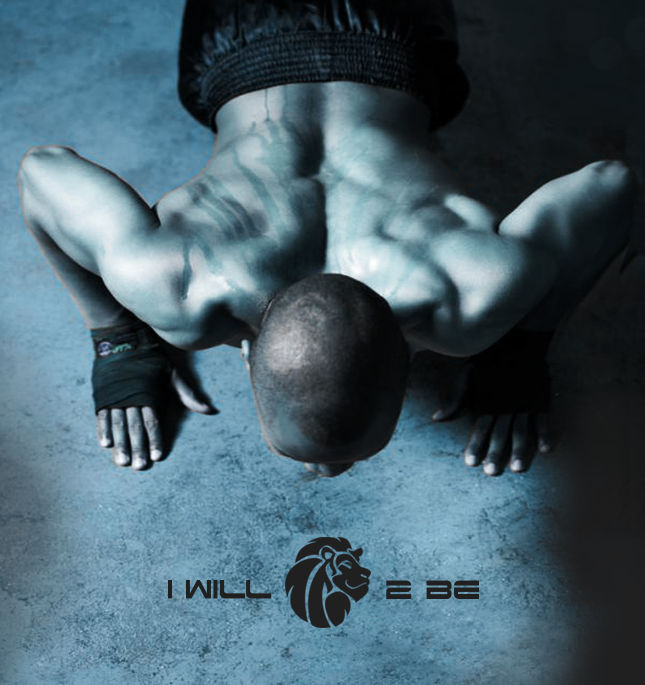 """""""I Will To Be"""" Gym Brand Identity and Marketing Collateral"""