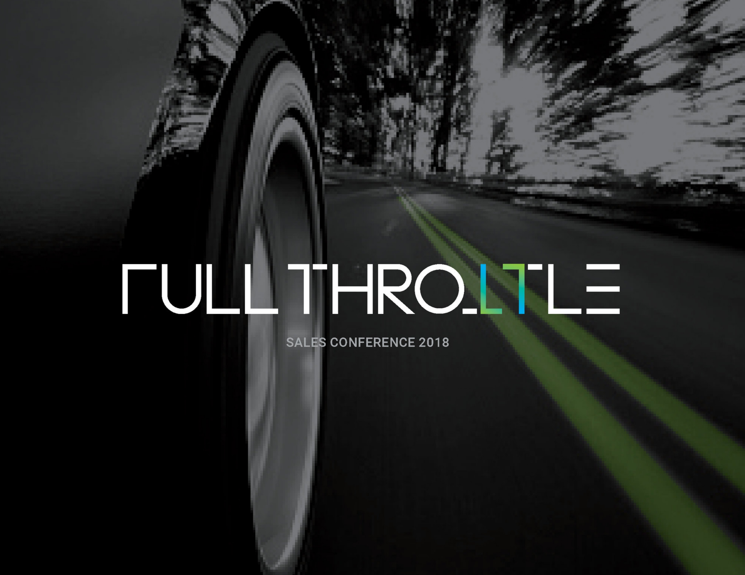 """SAI Global Sales Conference: """"Full Throttle"""" Campaign"""