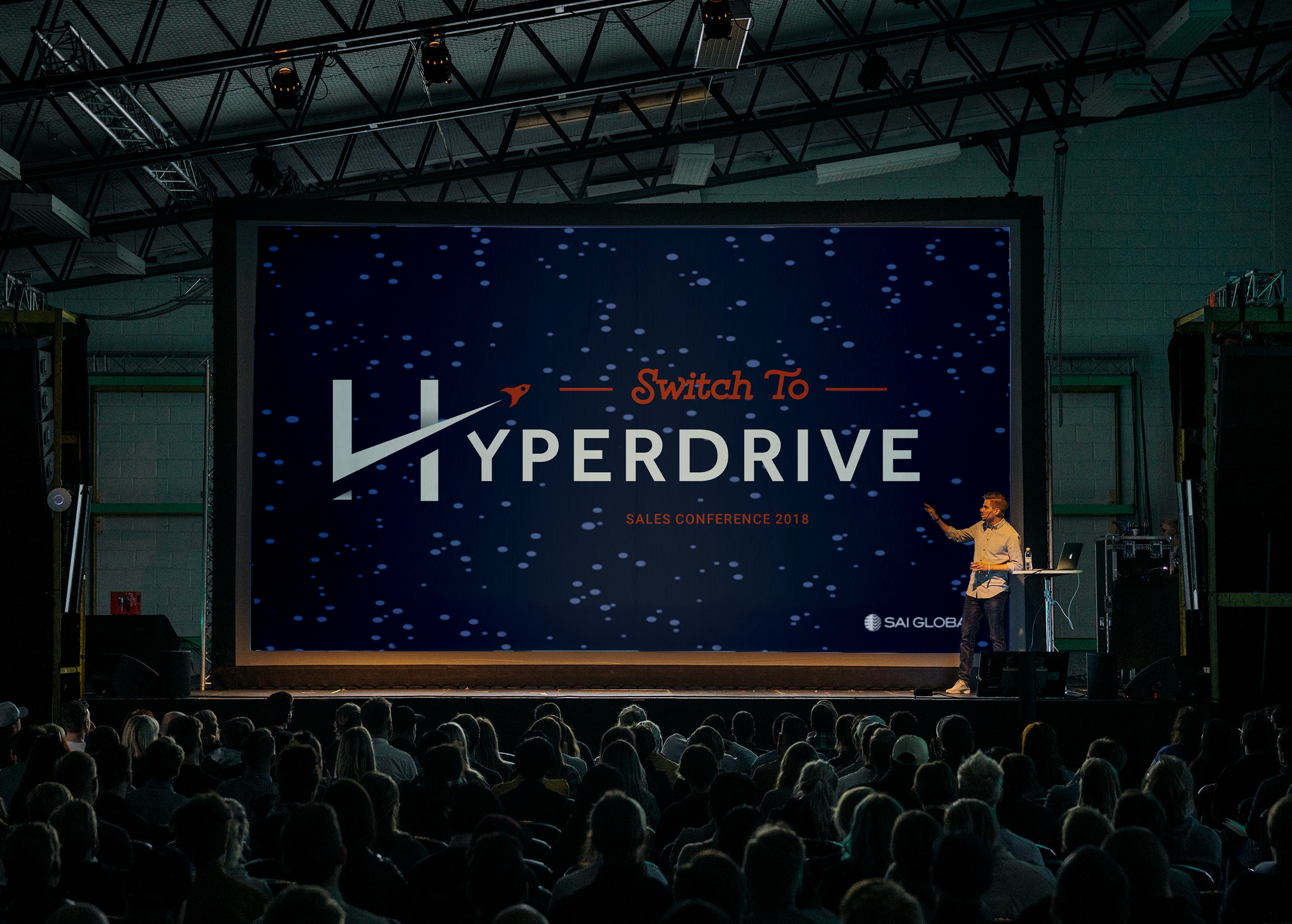 """SAI Global Sales Conference in Australia: """"Switch to Hyperdrive"""""""