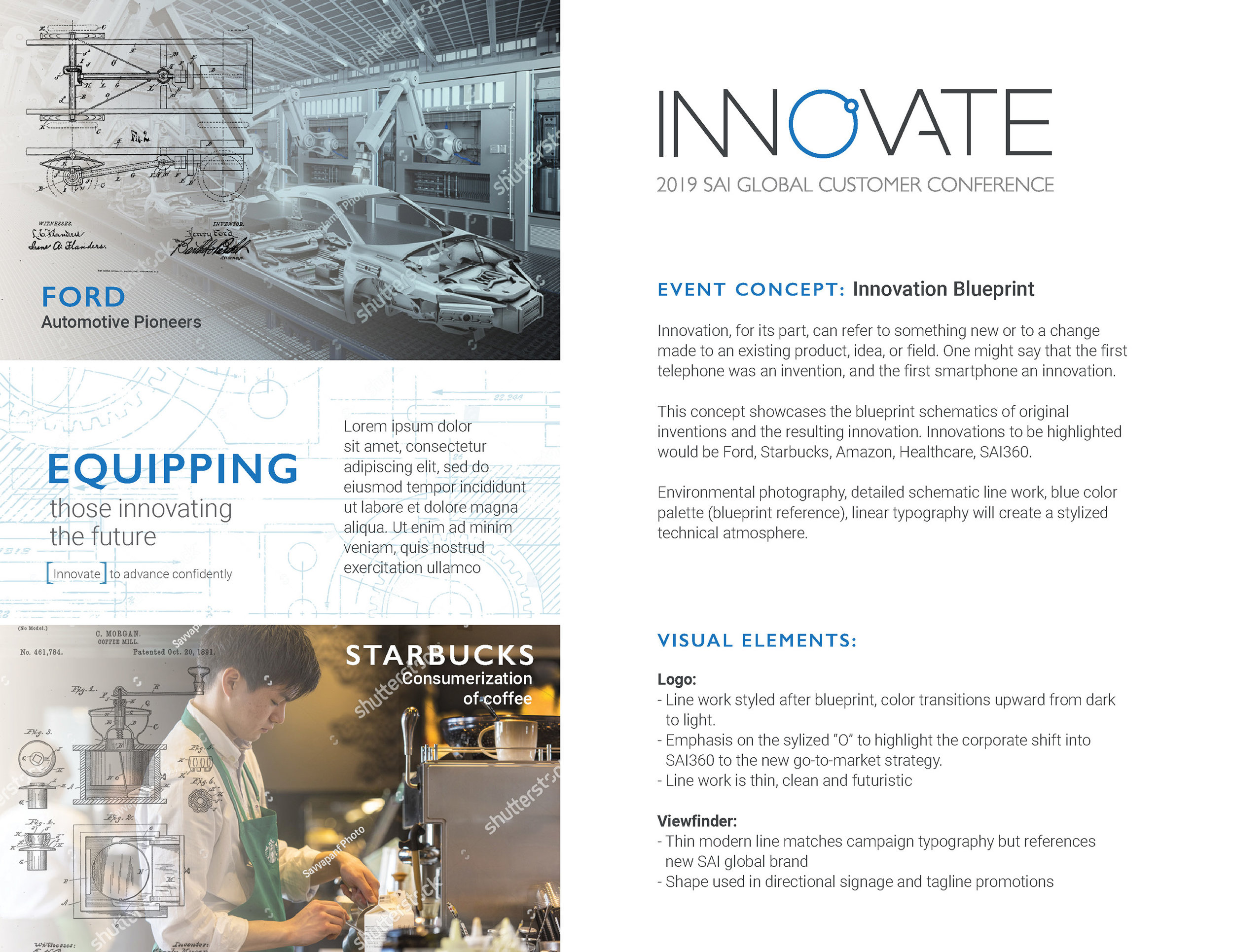 Innovate SAI Global Customer Conference Event Concept