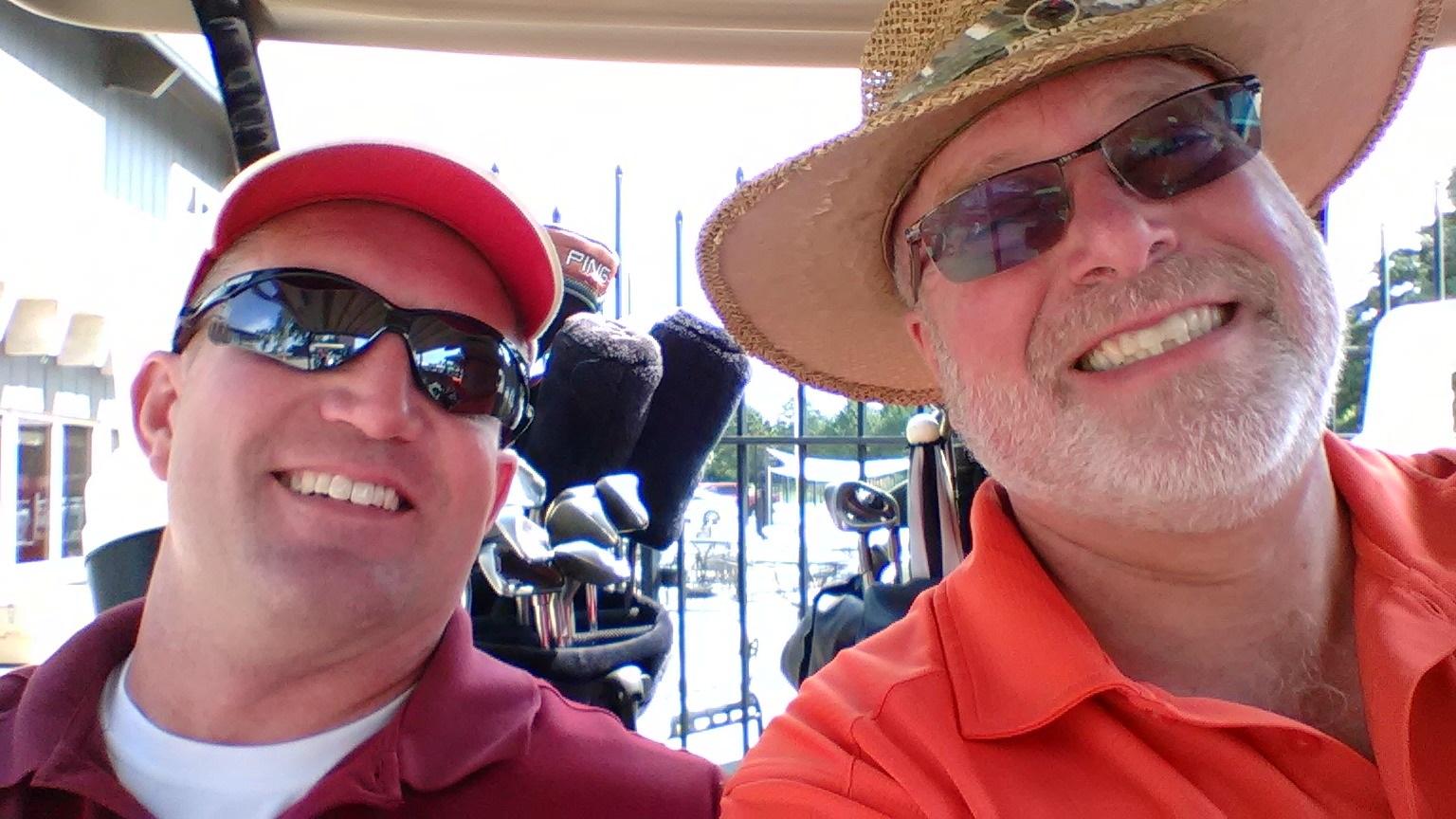Aaron Brown and Scott Howells