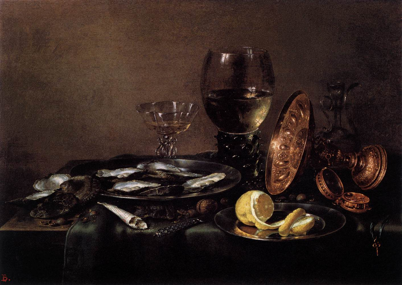 Still Life by   Willem Claesz Heda El Prado Museum, Madrid