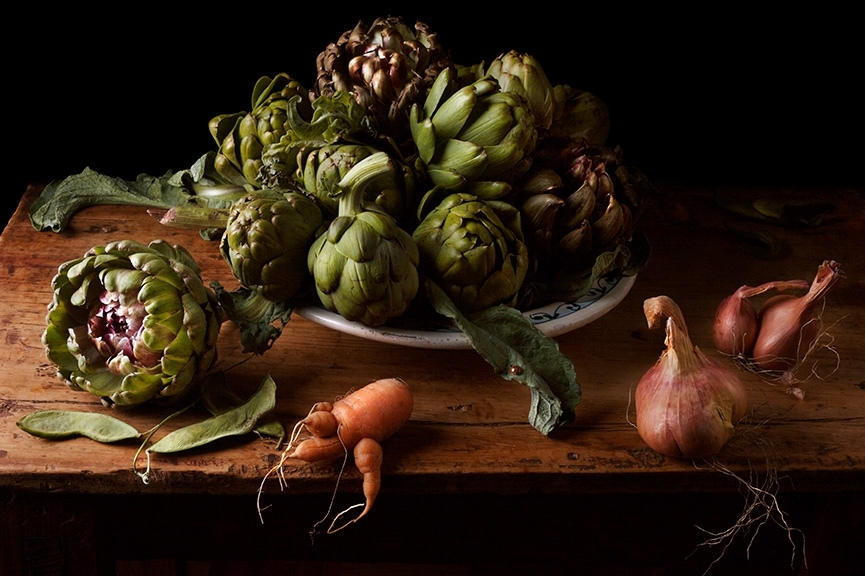 Artichokes, After J.V.H., 2008