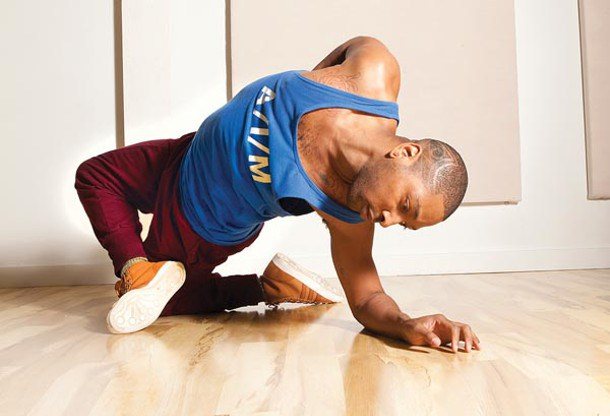 Choreographer Kyle Abraham, photograph by Heather Mull
