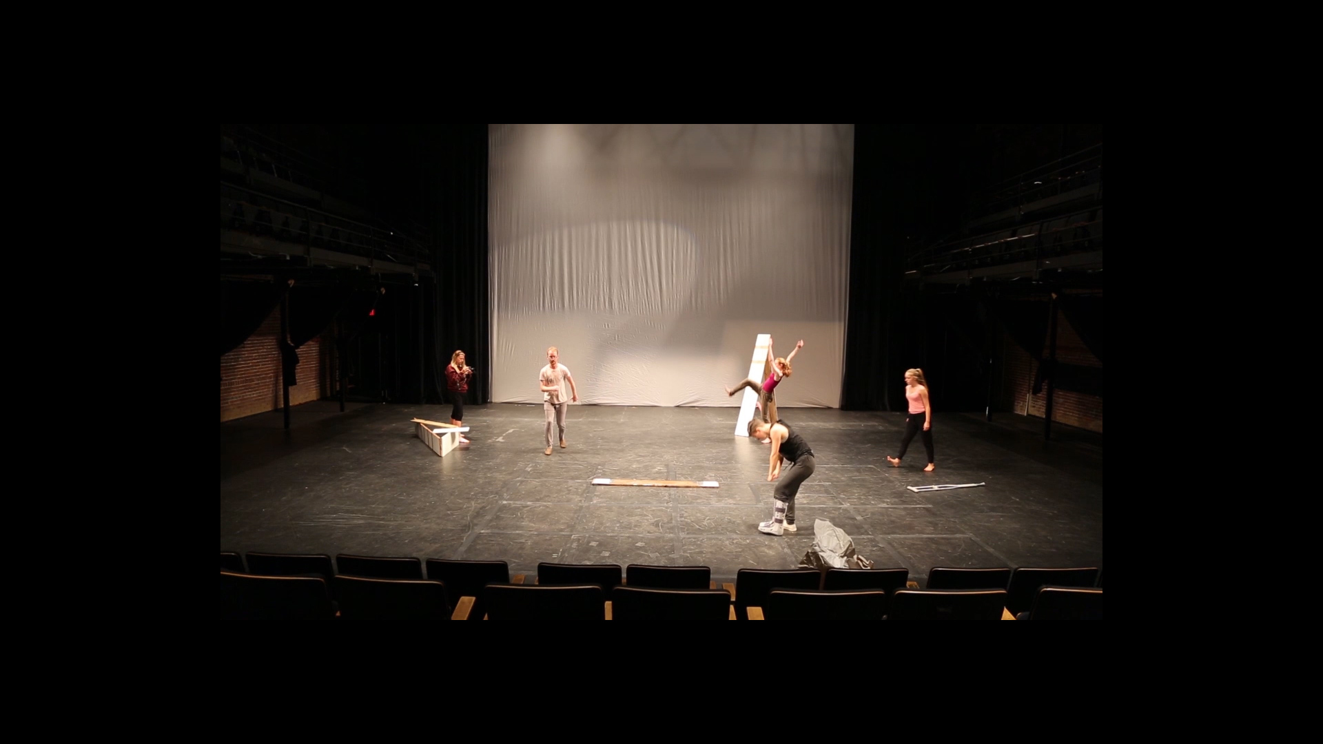 Rehearsals for  The Reduction