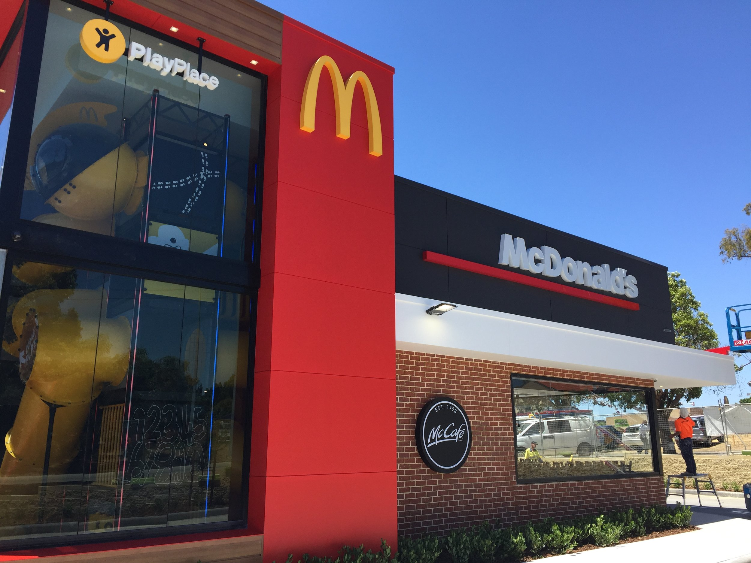 McDonalds Jolimont - Entrance.JPG
