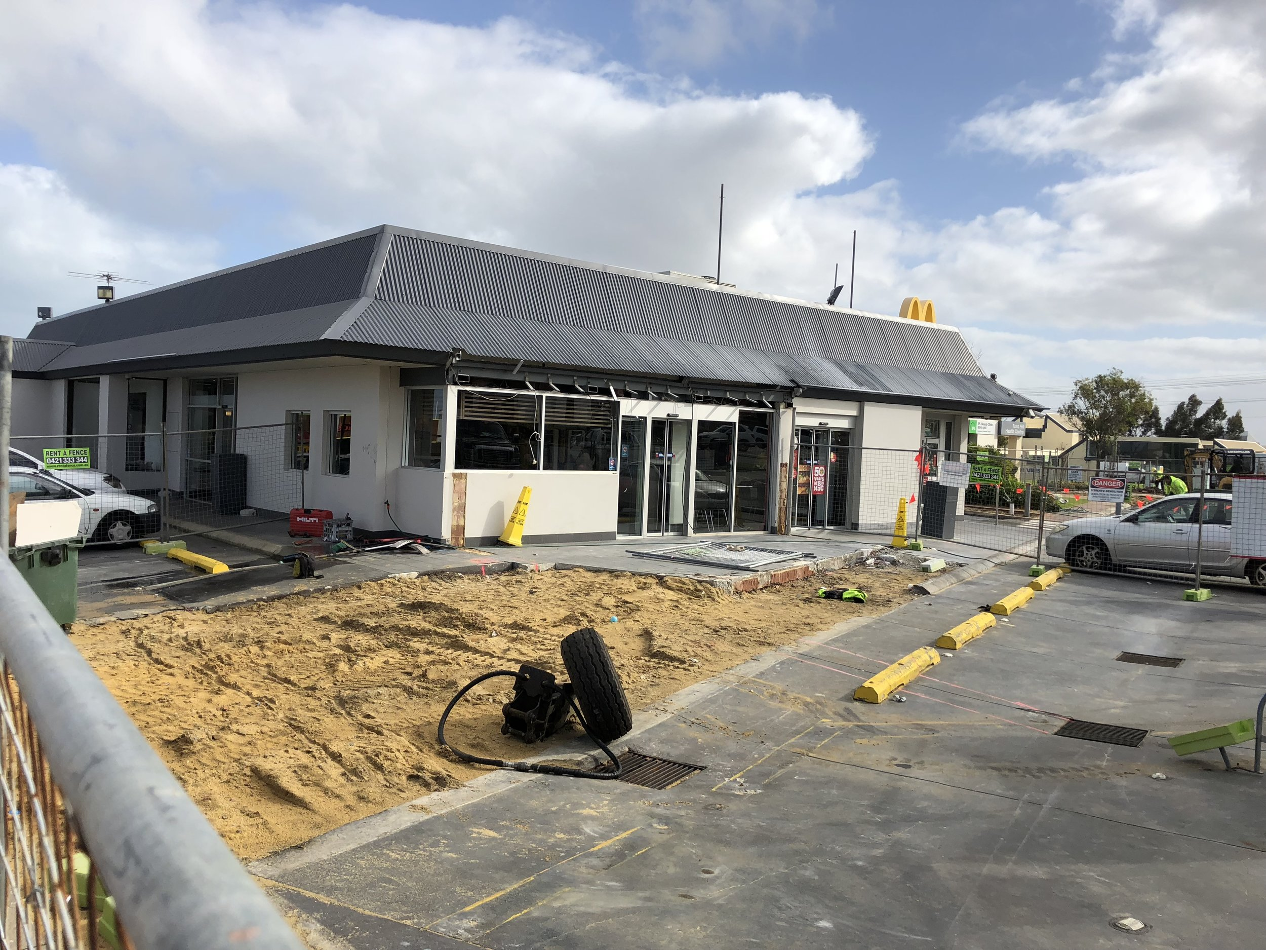McDonalds Tuart Hill - One of Perth Flagship Restaurant is ready for a Rebuild - Watch this space for its transformation