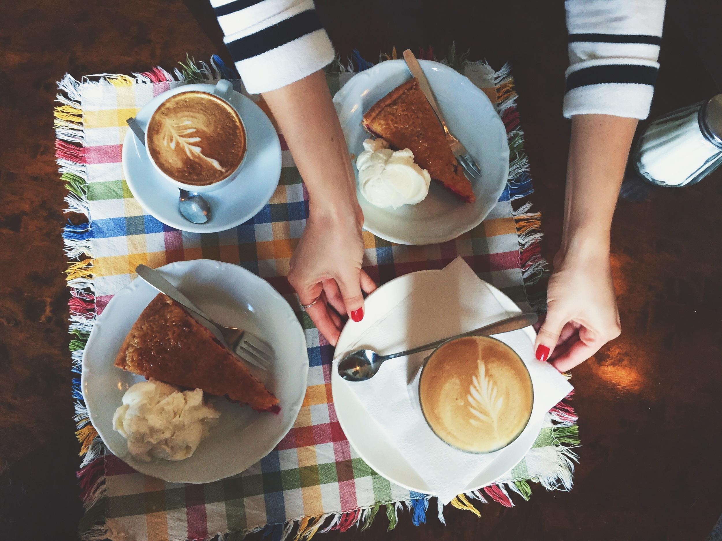 Fika at Cafe Storken.
