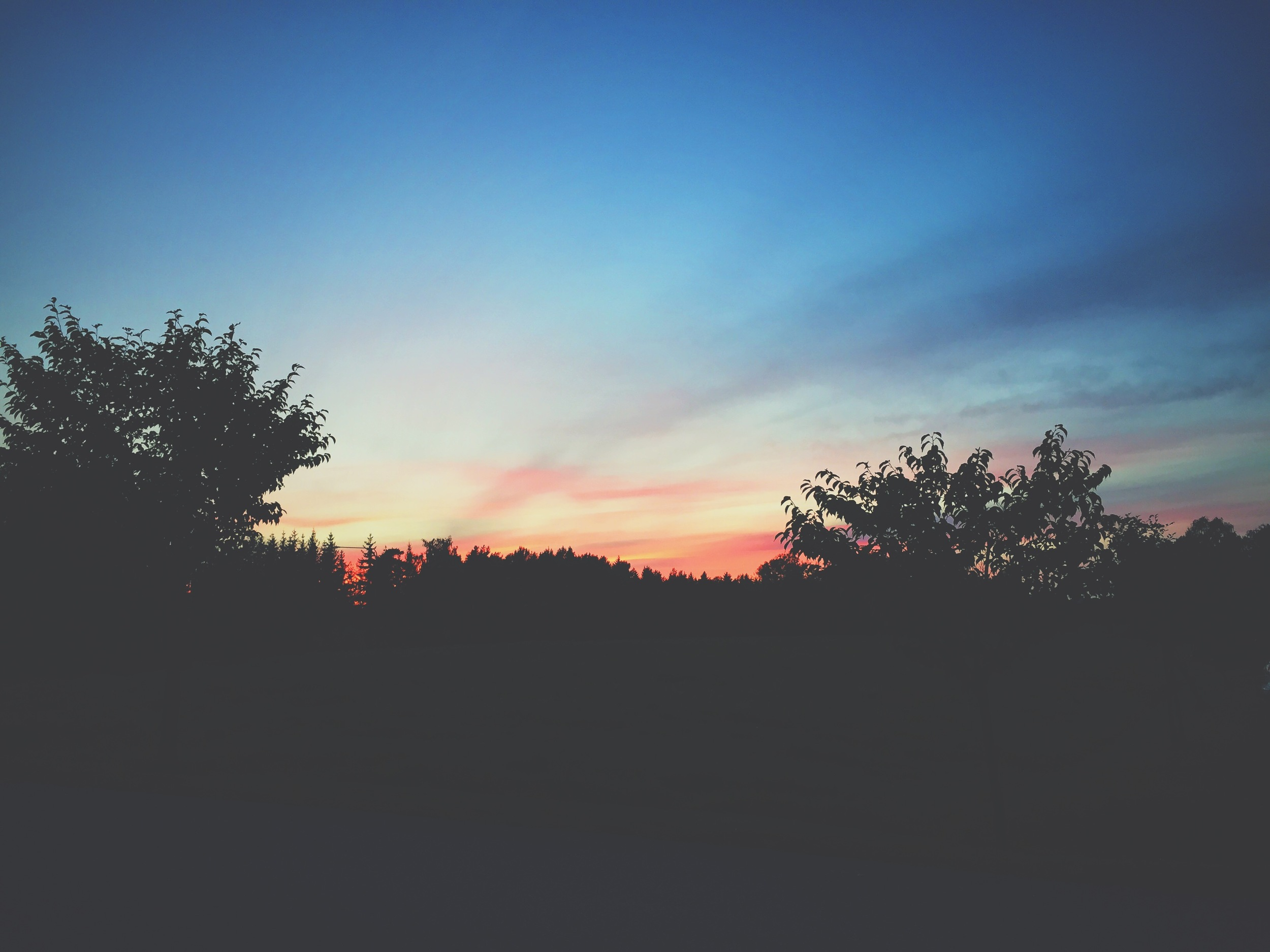 Another pretty sunset at Lilla Sunnersta.