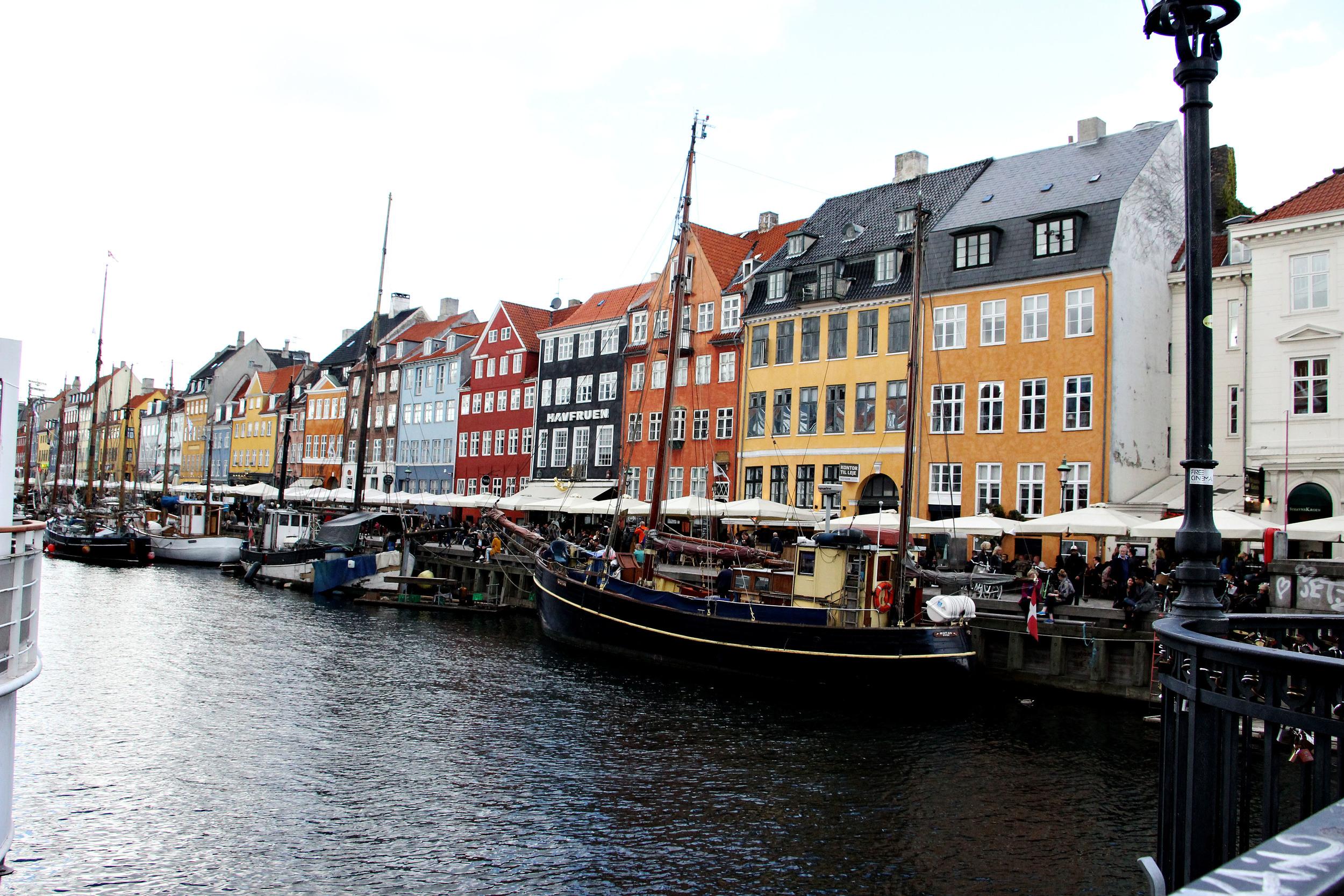 Famous view of Copenhagen.
