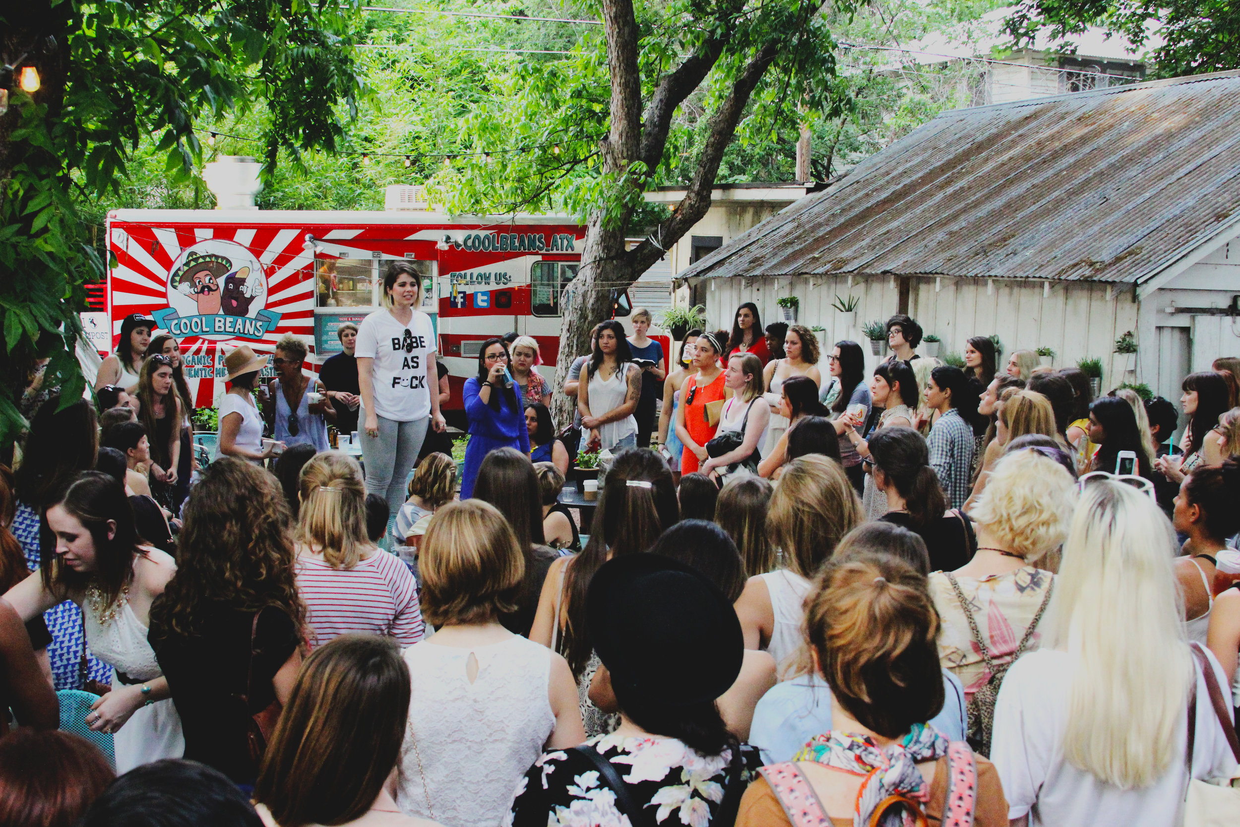 BBATX LAUNCH - Kind of already gushed about this in the text above, but I gotta say—I've been combing through all my old folders of these photos and my heart has been swelling to see how many women I photographed that first year that I didn't know, who are now some of my favorite friends in this city. This has been the best gig over the years because of the kickass people I've met.