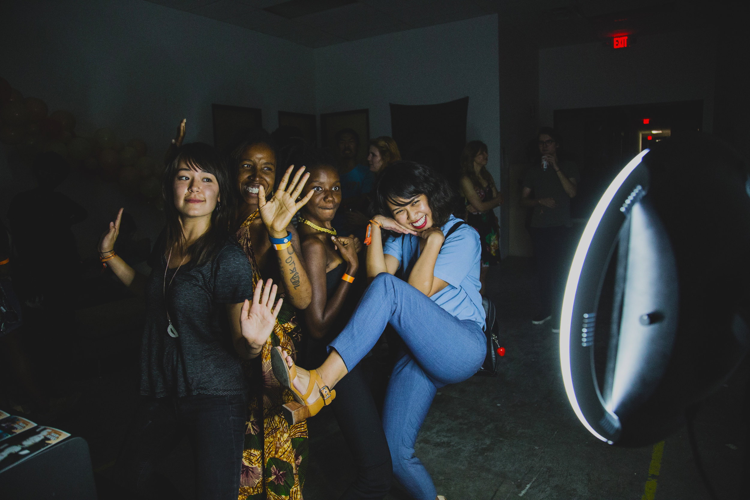 BABESFEST 2017 - Best photo I've probably ever taken of some of the best women I've ever met—shout out to FemBeat and Counter Balance ATX.