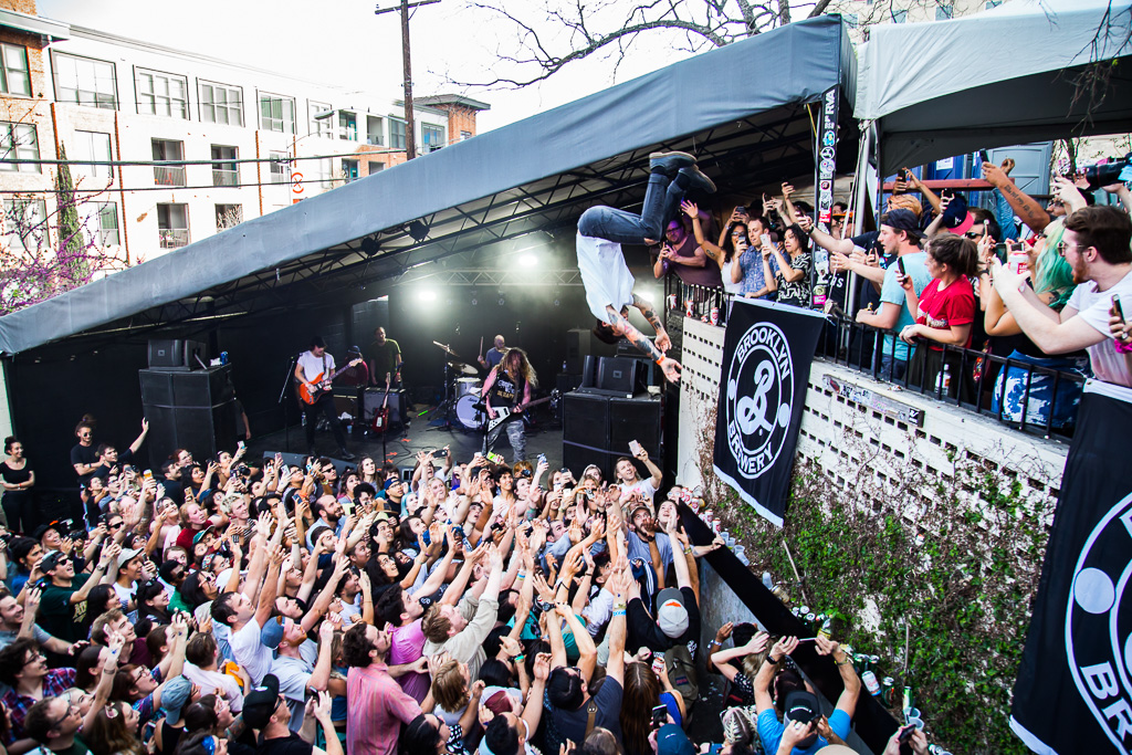 Wavves at the Mohawk during SXSW.
