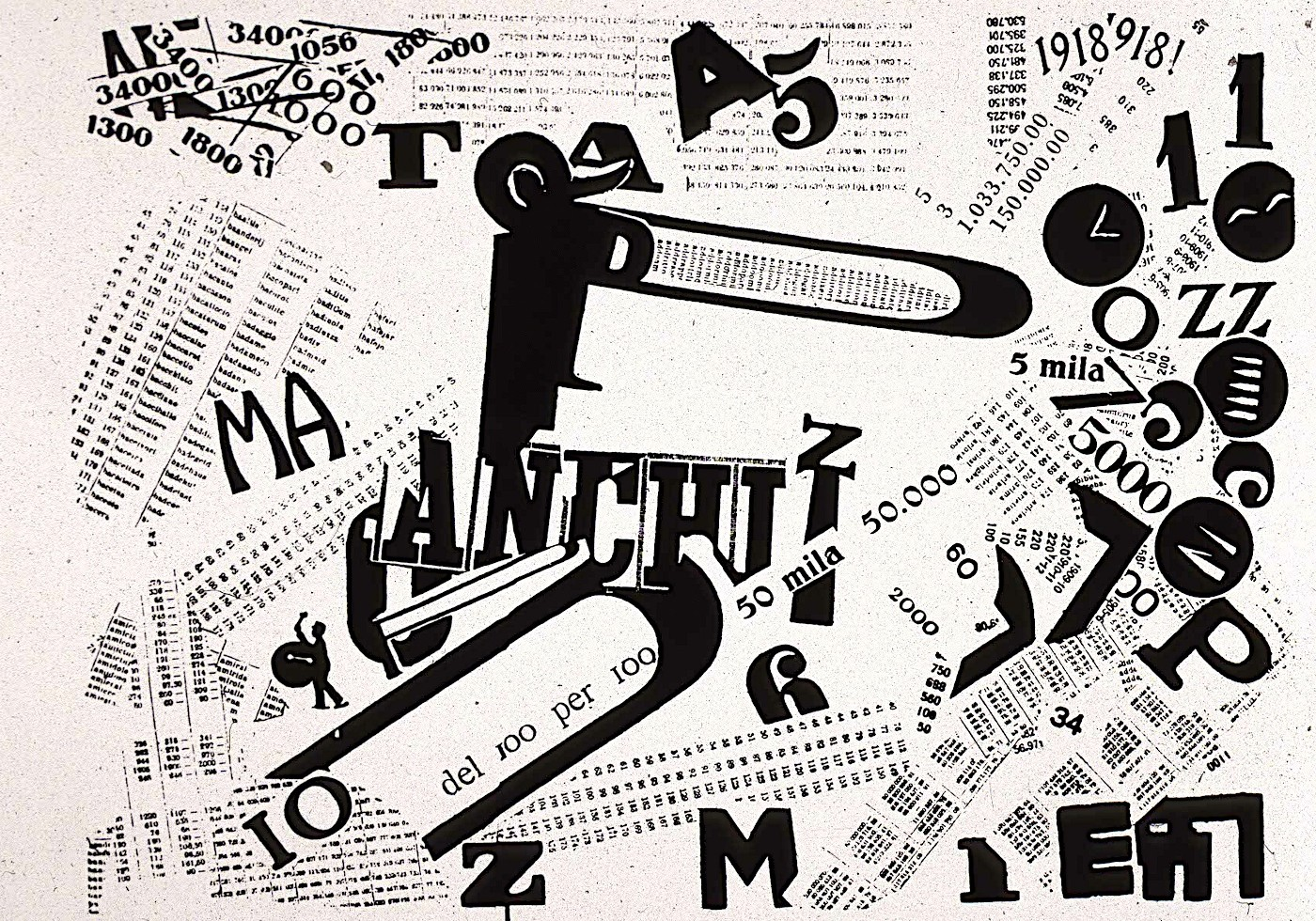 Words and Freedom - 1914, Filippo Marinetti