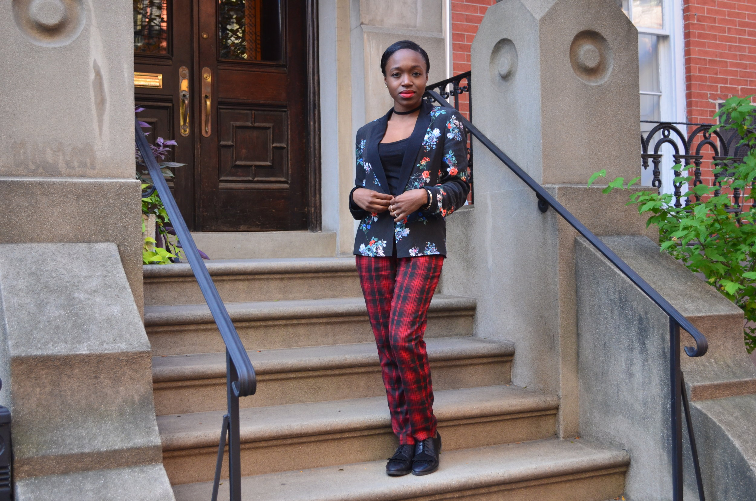 Read the  3 Ways to wear plaid post!