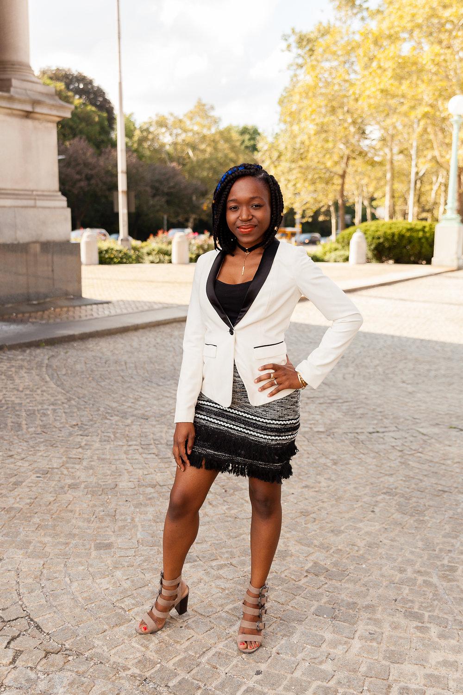 blazer: forever21// skirt: H&M