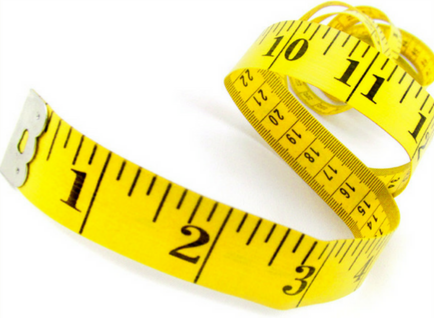 Take your measurements! - No matter what you are shopping for online, it is always helpful to know your measurements first. Step 3 will explain why.Take measurements for your BUST, TRUE WAIST (an inch above your belly button), and HIPS!