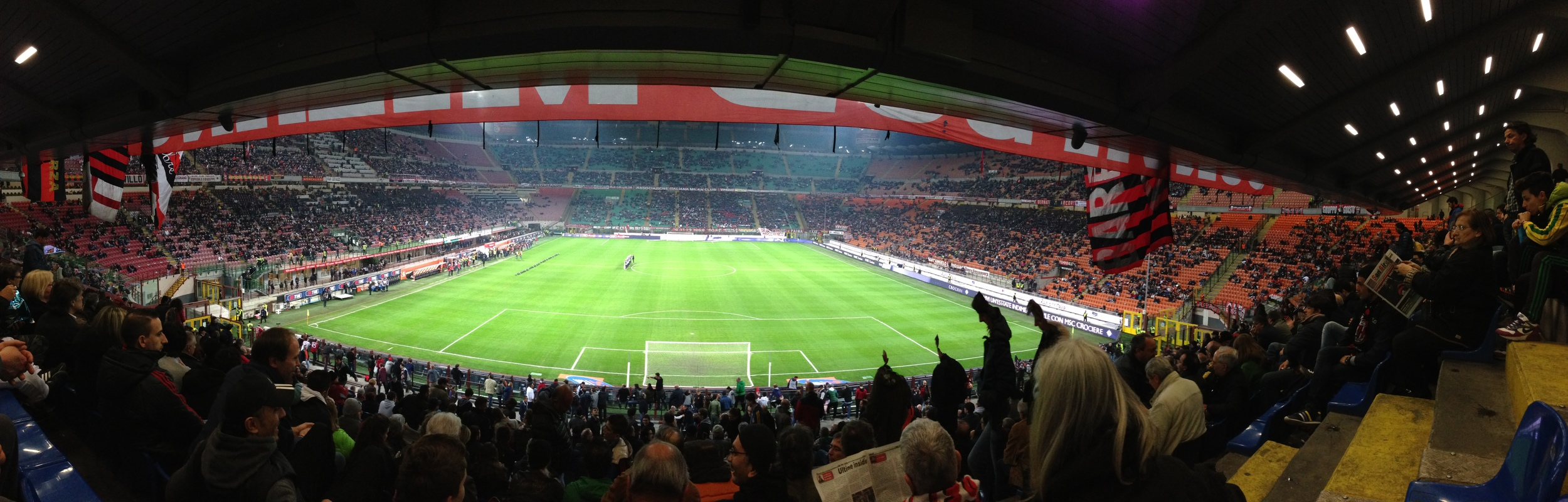 AC Milan, view from the Curva Sud