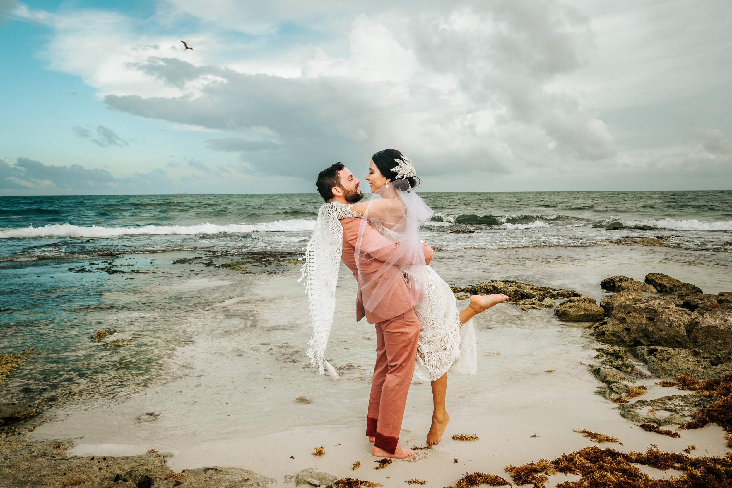 Karla & Logan - Mayan wedding at Playa del Carmen