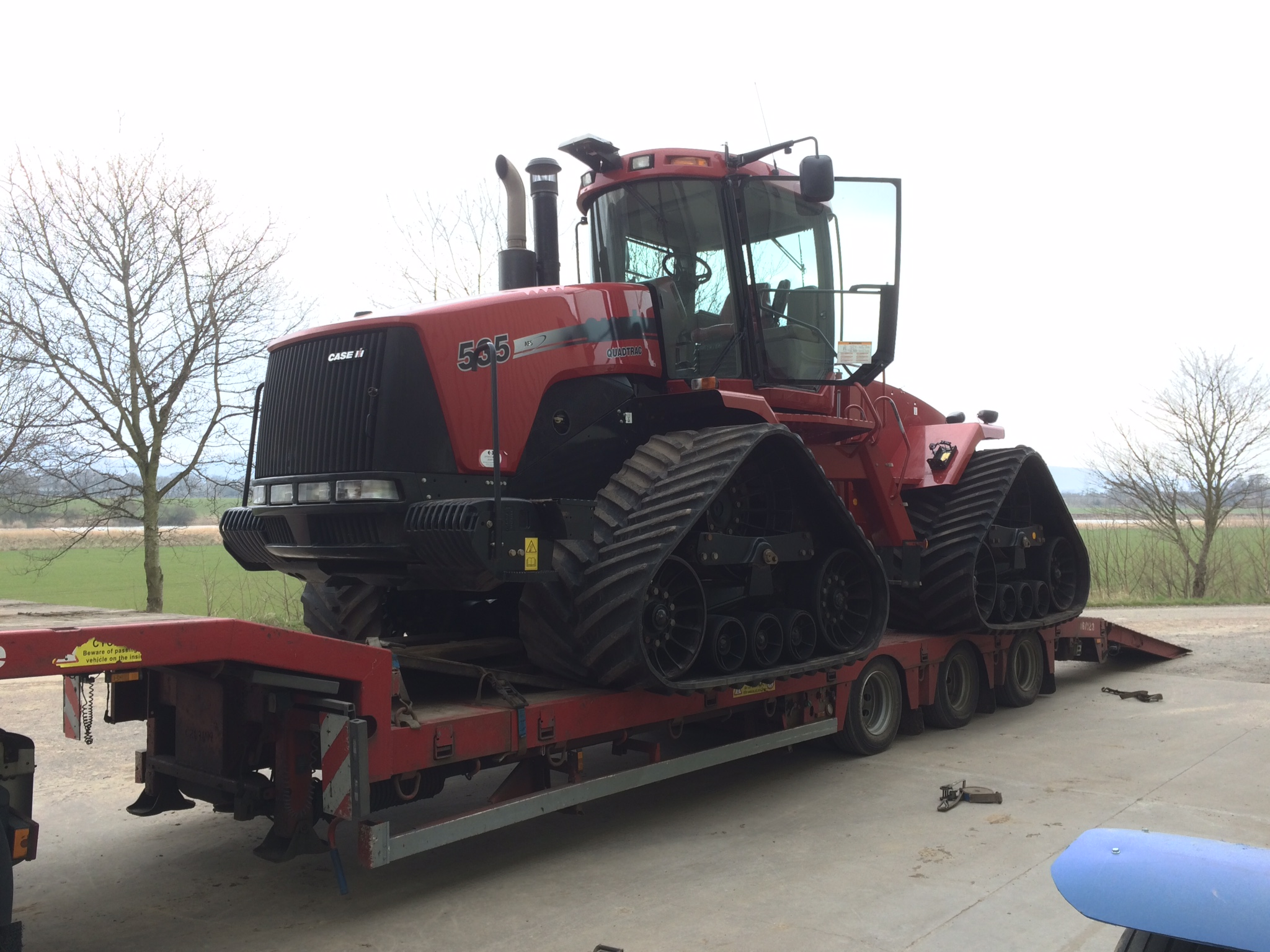 535 Quadtrac arriving for the spring