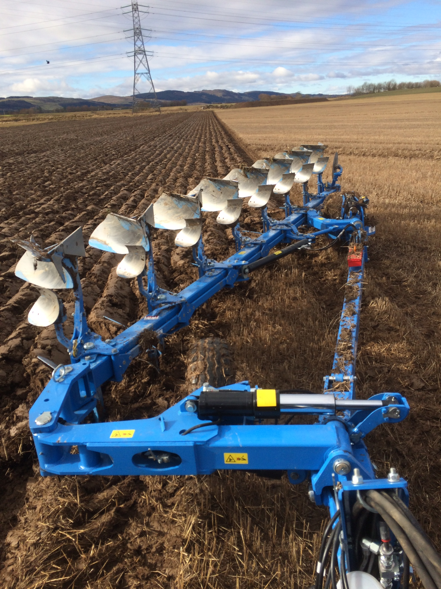 Lemken 8 Furrow Demo