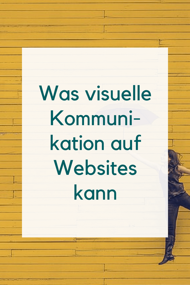 Visuelle Kommunikation auf Websites