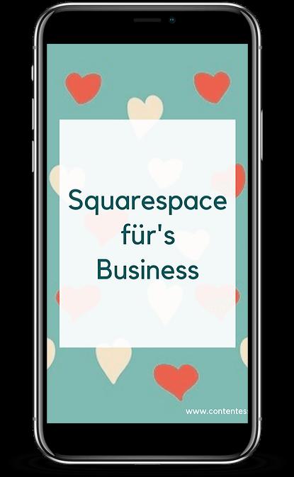 Facebook-Gruppe 'Squarespace für Einsteiger'