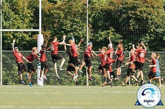 U17 Belgian National team at EYUC 2016.