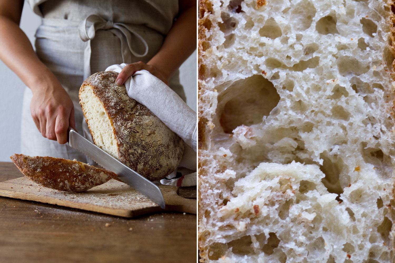 Brot aus dem Gusseisentopf — nom-nom
