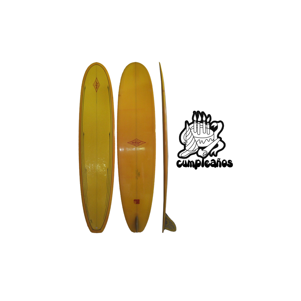 Solid Yellow Deck (with $20USD extra pinline) / Solid Orange Bottom