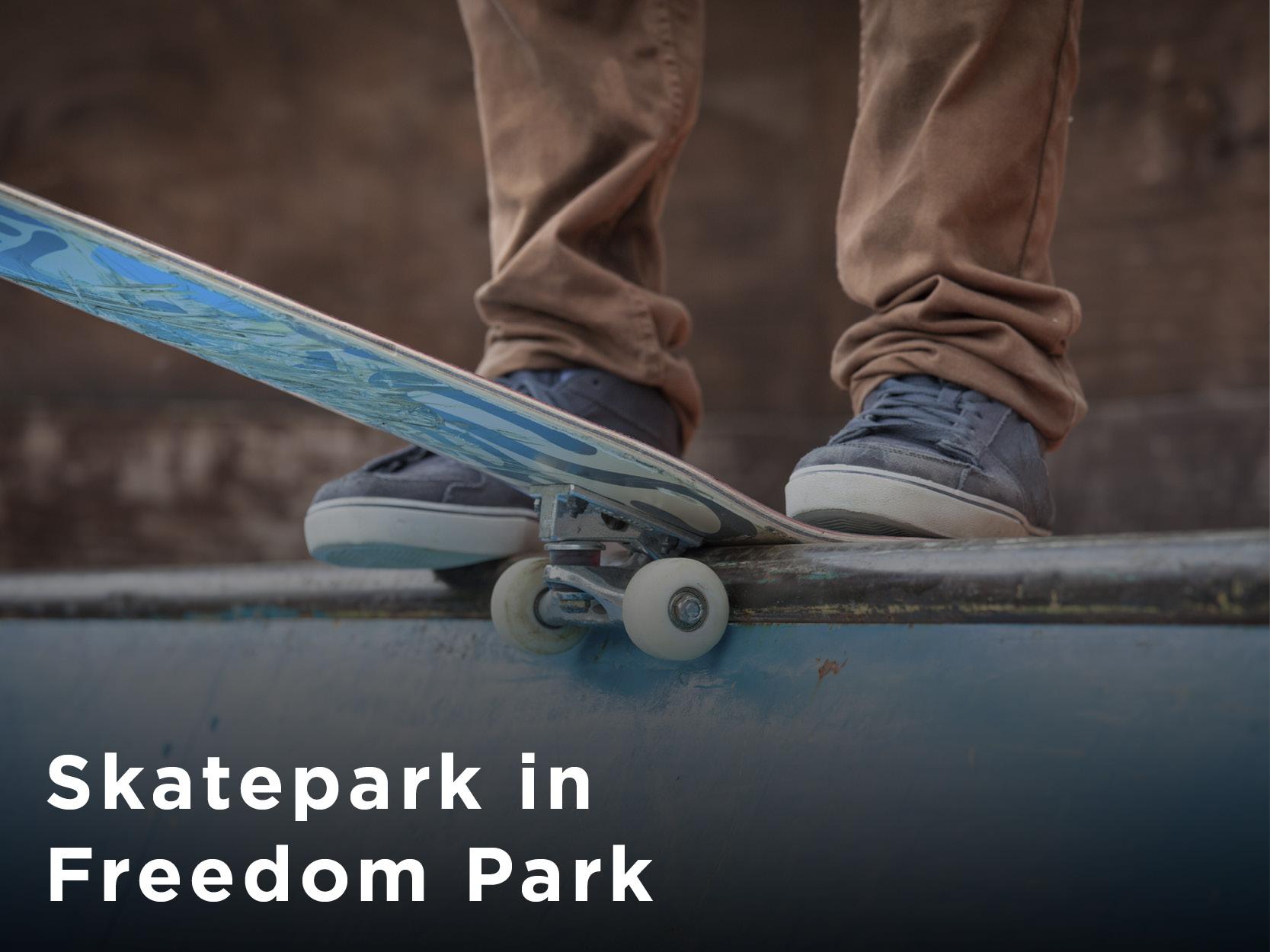 Skate Park at Freedom Park