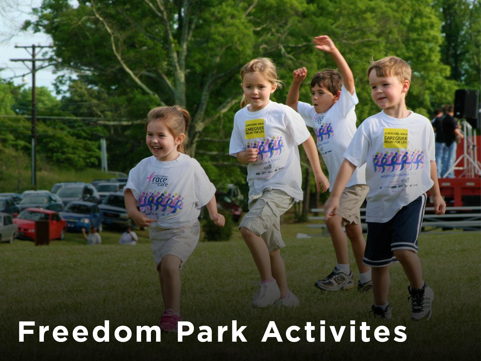 Freedom Park Activities