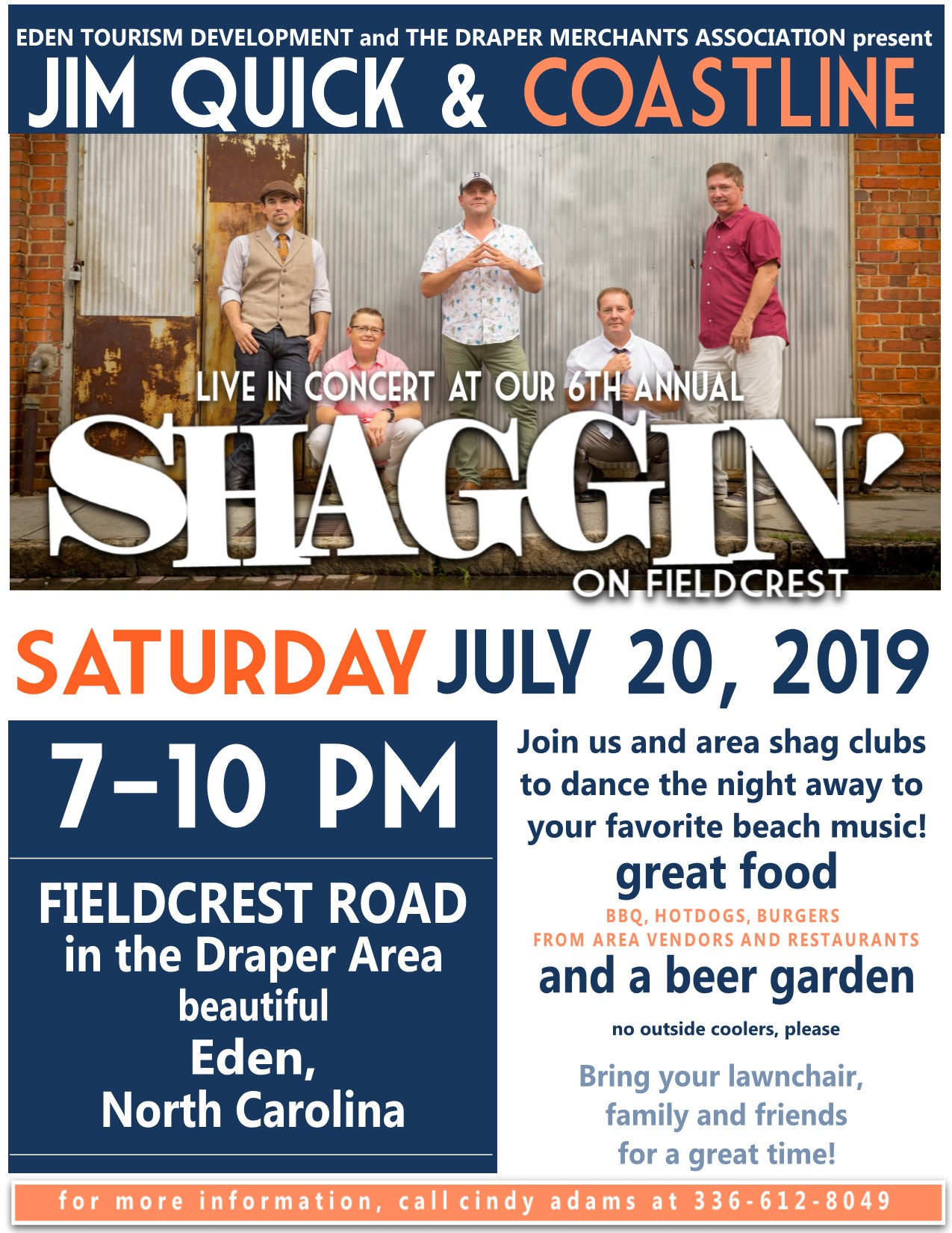 Shaggin on Fieldcrest 2019 - Flyer