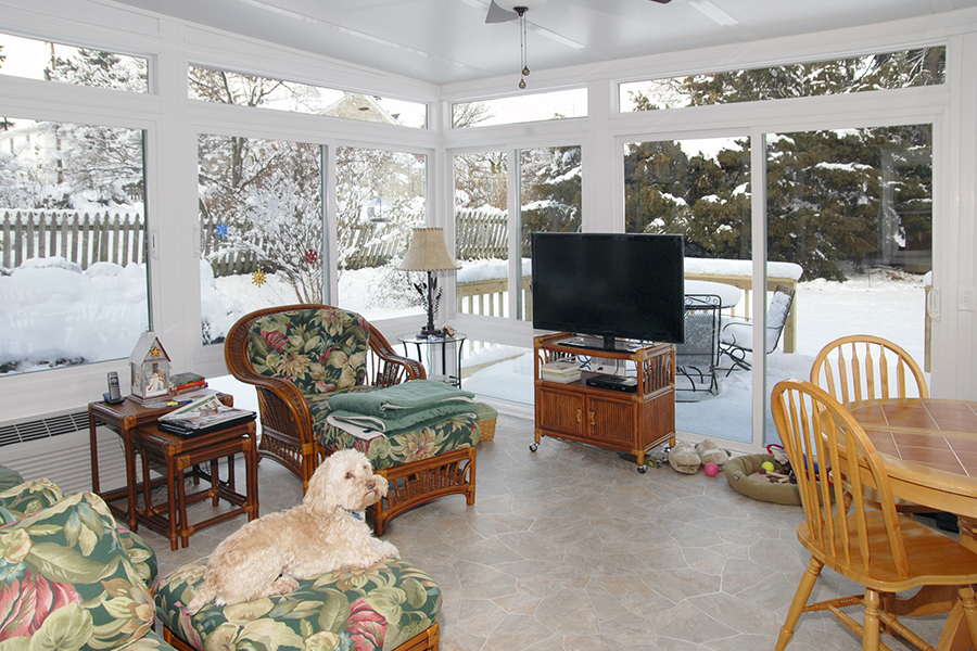 4 Season Vinyl Sunrooms Gallery