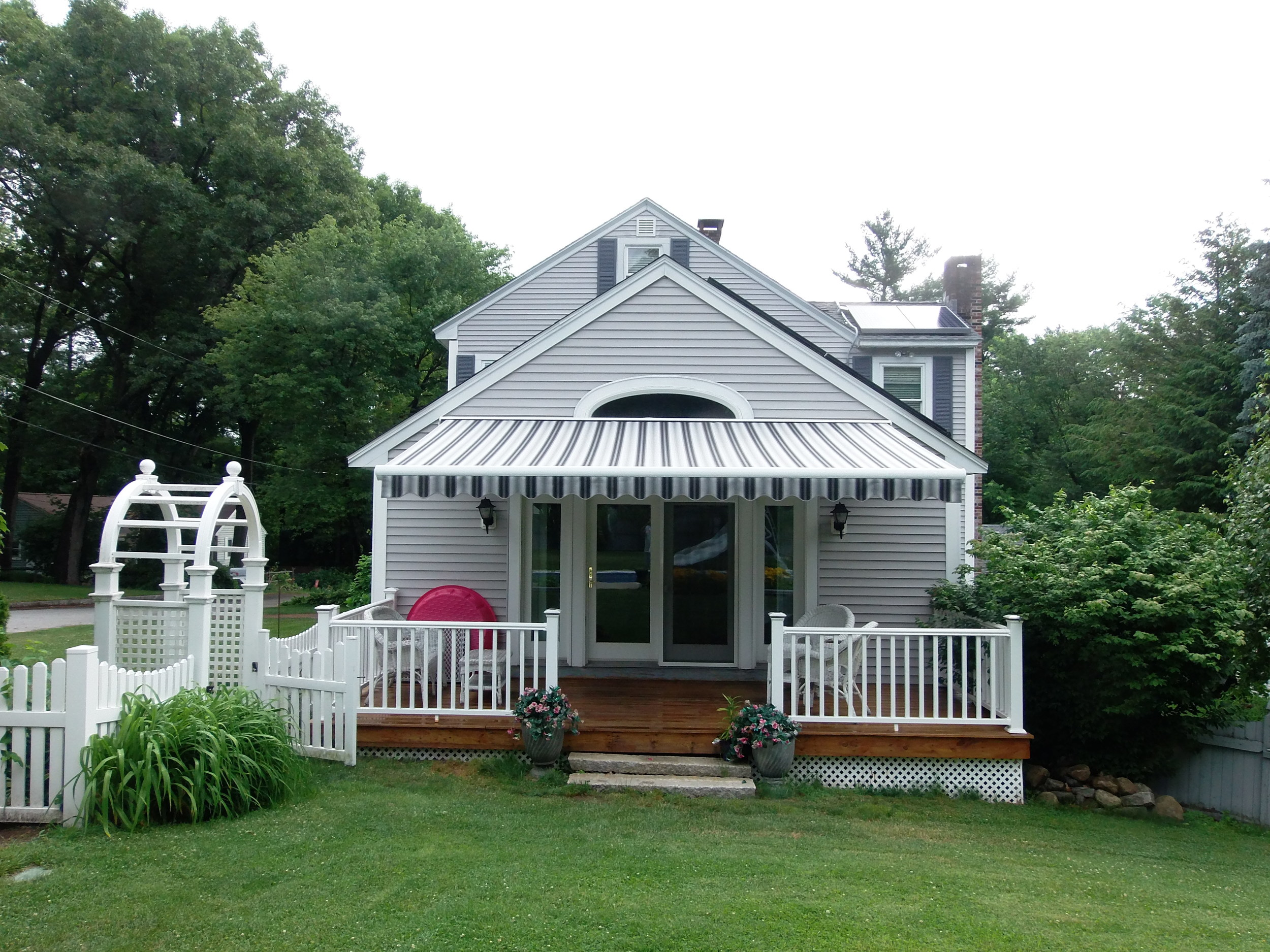Chelmsford, MA- Retractable Awning