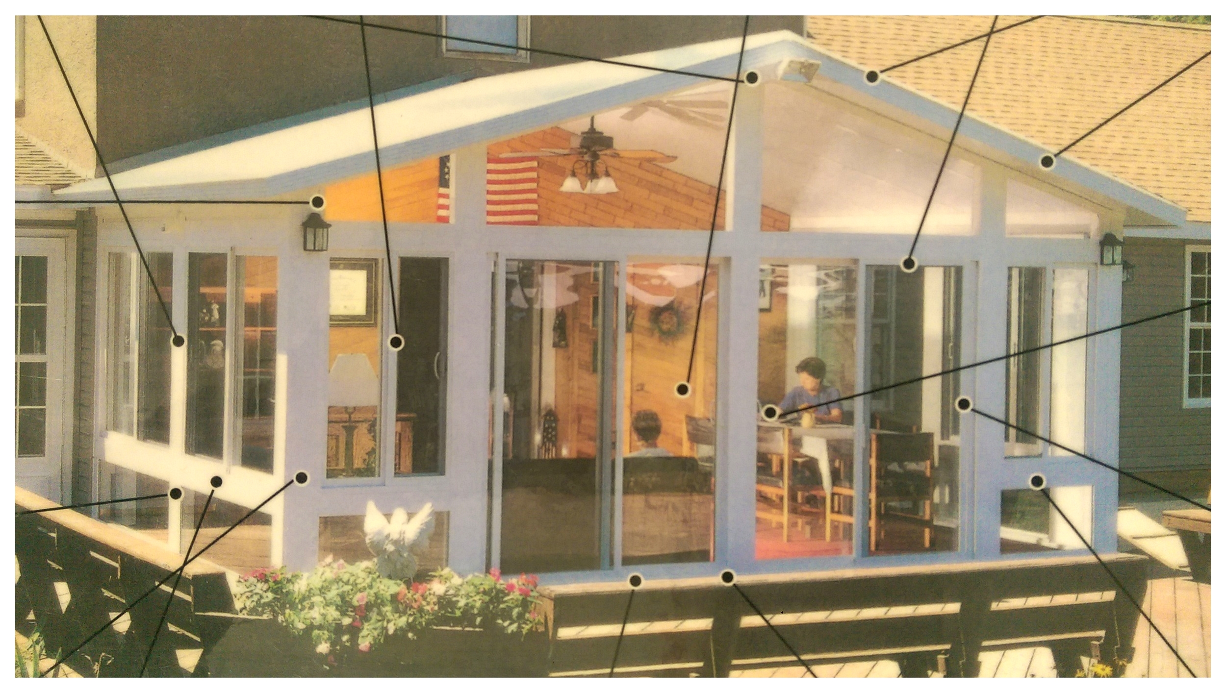 Betterliving year-round and 3-season sunroom components
