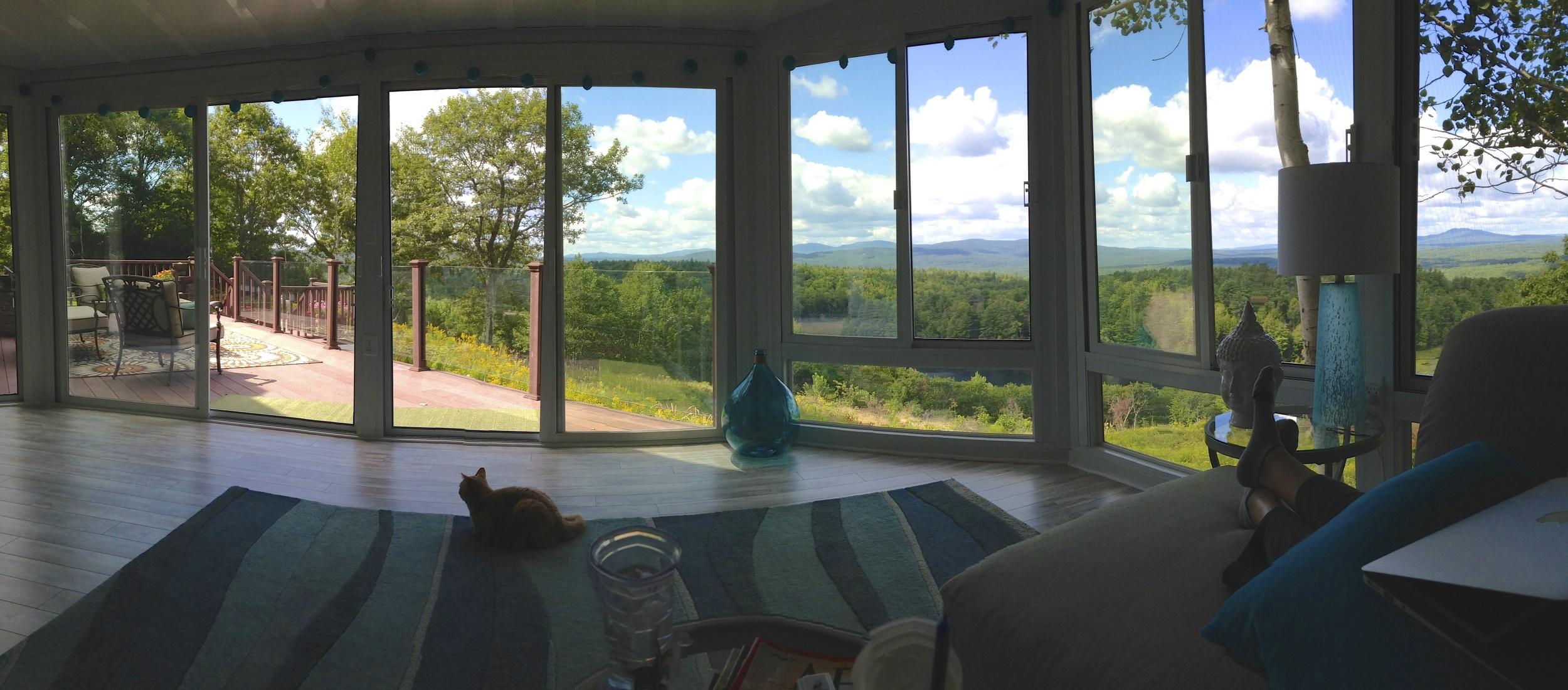 Sunroom design award winning project - New Boston, NH - Betterliving Sunrooms of New Hampshire & Erickson Construction Co., Inc.