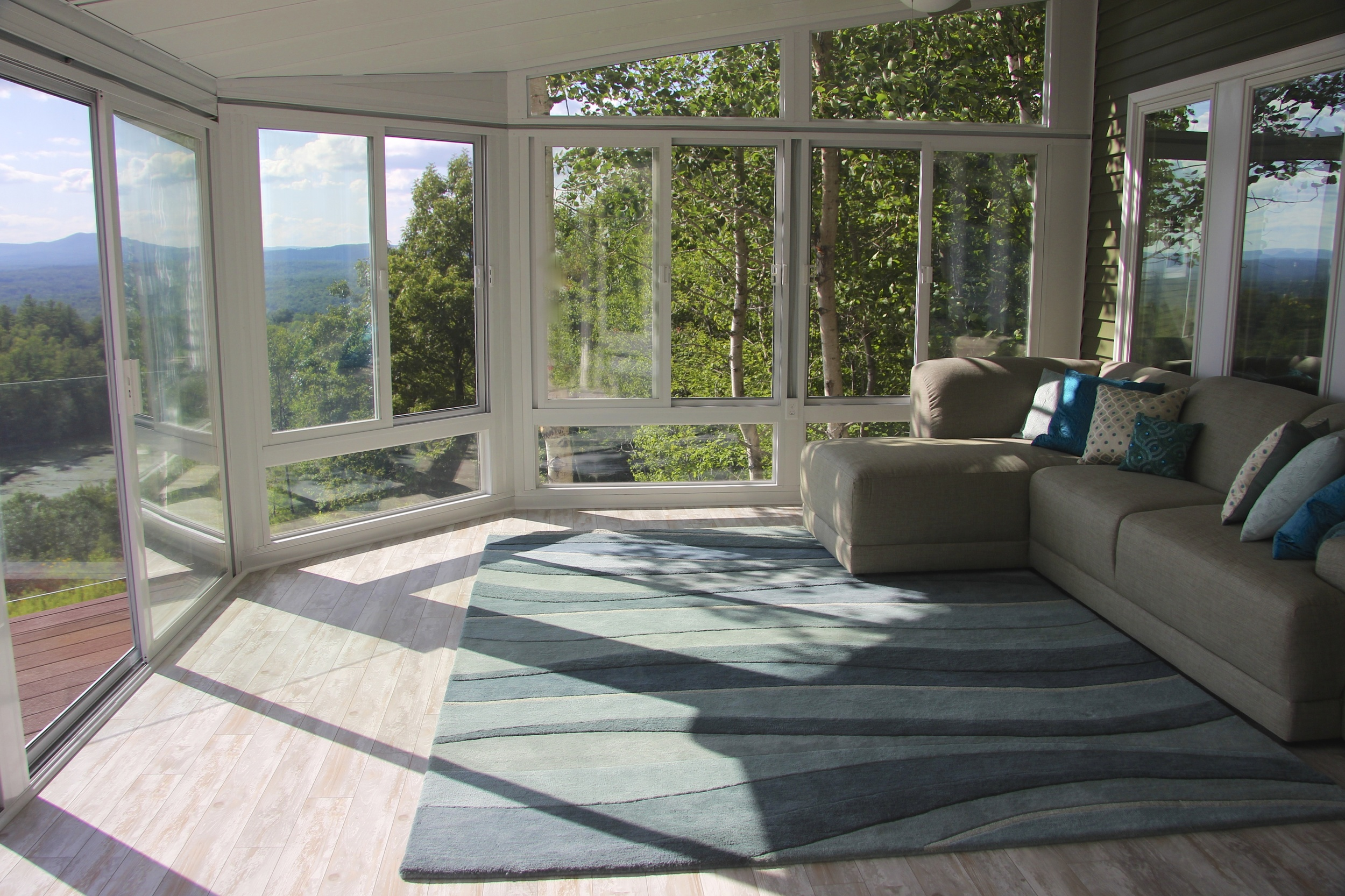 sunroom interior view