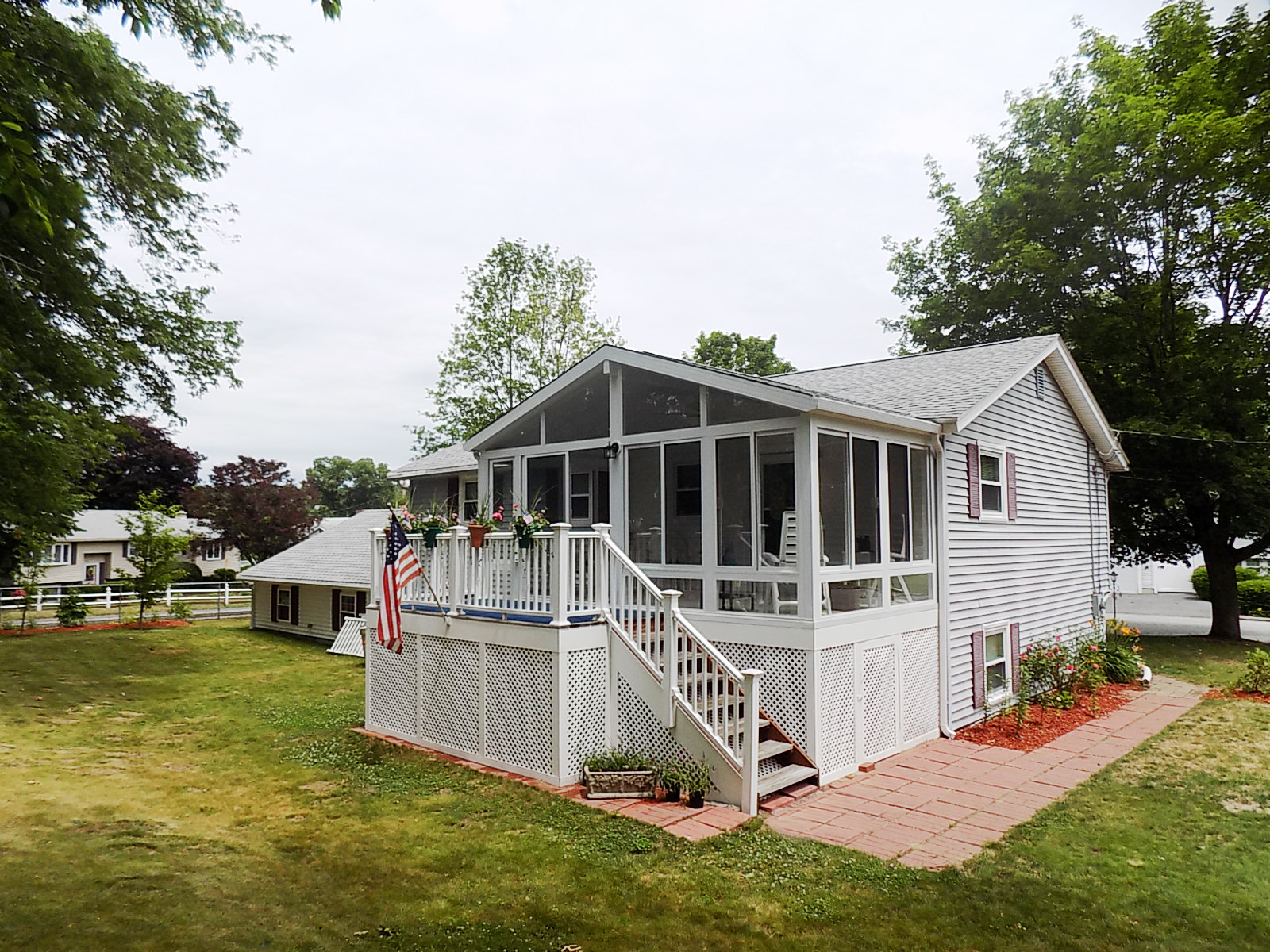 Lowell, Massachusetts sunroom installation by Betterliving Sunrooms of NH