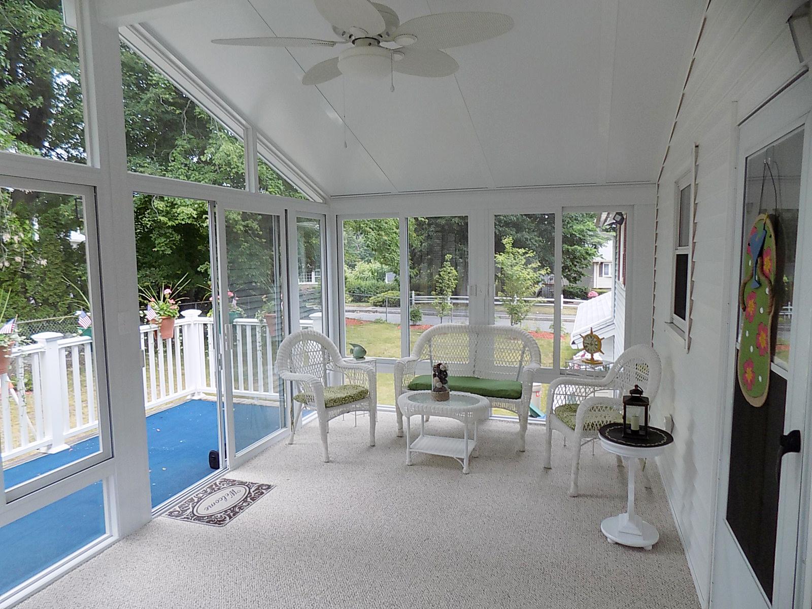 3-season sunroom, Lowell, MA