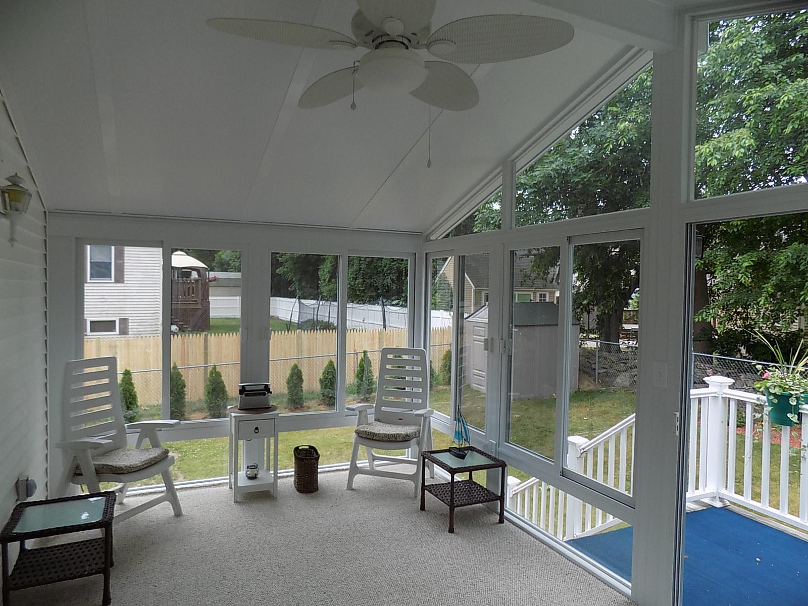 A-frame, 3-season sunroom, Betterliving Sunrooms of New Hampshire