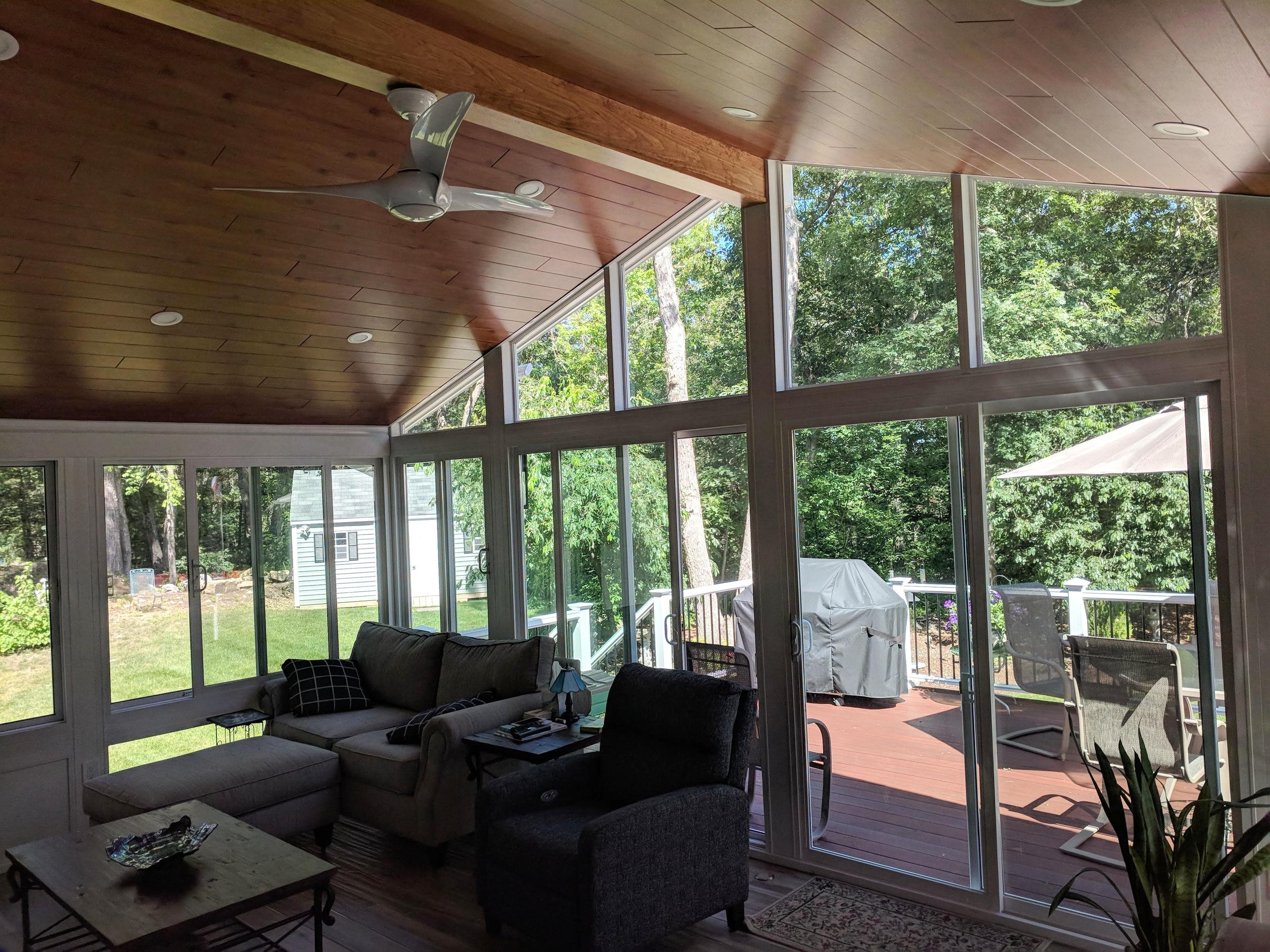 Sunroom Contractor in New Hampshire